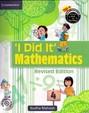I Did It Mathematics 4 W/Cd : Cce Edition