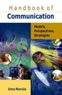 Handbook Of Communication Models Perspectives Strategies