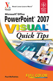 Ms Office Power Point 2007 Visual Quick Tips Full Color