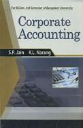 Corporate Accounting 3rd Sem Bcom Bu