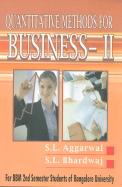 Quantitative Methods For Business 2 For Bbm 2nd Sem : Bu