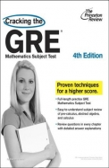 Cracking The Gre Mathematics Subject Test : The    Princeton Review