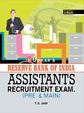 Reserve Bank of India Assistants Recruitment Exam
