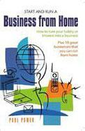 Start & Run A Business From Home