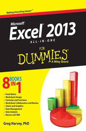 Ms Excel 2013 All In One For Dummies 8 Books In 1