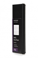 Moleskine 2014 Weekly Planner, Vertical, 12 Month, Pocket, Black, Hard Cover (3.5 X 5.5)