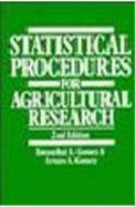 Statistical Procedures For Agricultural Research