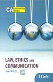 Law Ethics & Communication For Ca Ipcc