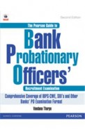 Pearson Guide To Bank Probationary Officer Recruitment Exam