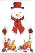 Snowman 3D Calendar