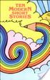 Ten Modern Short Stories