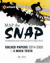 Map The Snap Symbiosis National Aptitude Test Withsolved Papers and 5 Mock Papers 2014-2005: Code
