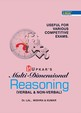 MULTI DIMENSIONAL REASONING VERBAL and NON VERBAL   COMPETITIVE EXAMS : CODE 1624