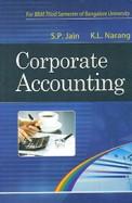 Corporate Accounting 3rd Sem Bbm Bu