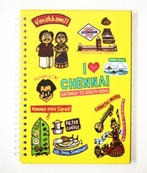 Eco Corner Small Chennai Ruled Exercise Book