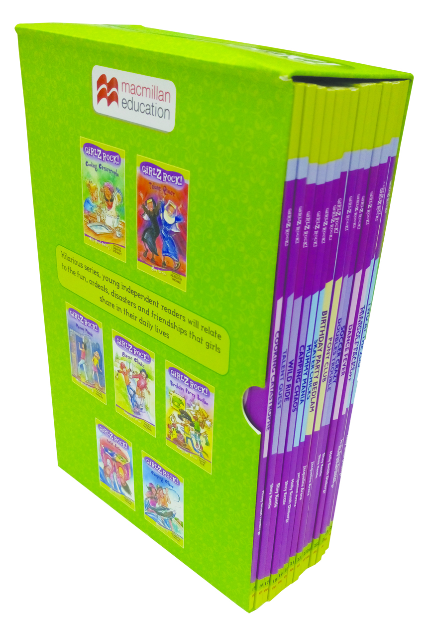 Girlz Rock Set Of Box 15 To 28 Titles (Green)