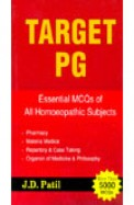 Target Pg - Essential Mcqs Of All Homoeopathic     Subjects