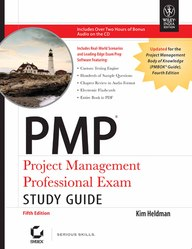Pmp : Project Management Professional Examstudy Guide