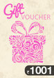 Gift Card Worth Rs 1001
