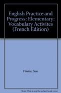English Practice & Progress Vocabulary Activities
