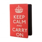 Eco Corner Keep Calm Passport Holder