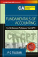 Fundamentals Of Accounting For Ca Common Proficiency Test(Cpt)