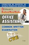 Regional Rural Banks Office Assistants Common Written Exam Cwe : Code 1547