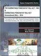 Karnataka Panchayat Raj Act 1993 & Karnataka Panchayat Raj Act Amendment Bill 2014 Cet Pdo Grama