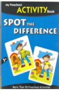 Spot The Difference - My Preschool Activity Book