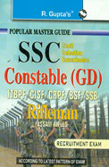 Ssc Constable Gd Itbpf:Cisf:Crpf:Bsf:Ssb Rifleman Assam Rifles Recruitment Exam