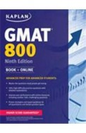 Kaplan Gmat 800 Book+Online Advanced Prep For Advanced Students