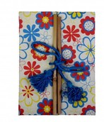 Eco Corner Double Door Exercise Book - Floral Print