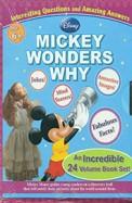 Disney: Mickey Wonders Why Age 6+ 24 Vol Book Set