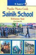 Popular Master Guide Sainik School Entrance Test Class 6 : Code R-951