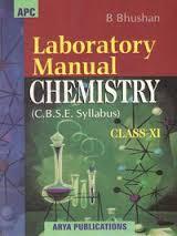 Laboratory Manual Chemistry Class 11 : Cbse