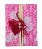 Eco Corner Double Door Exercise Book - Pink Print