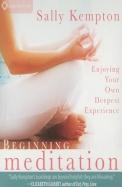 Beginning Meditation: Enjoying Your Own Deepest Experience
