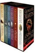 Song Of Ice & Fire Box Set Of 6 Books