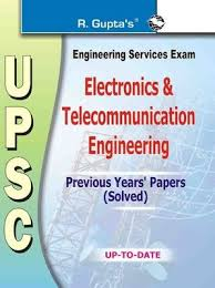 Upsc Engineering Services Exam Electronics & Telecommunication Engineering Previous Solved