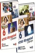 Ntse Nmms Olympiads Class 6 Science/Social Science /Maths/Mental Ability English Vol 1 & 2