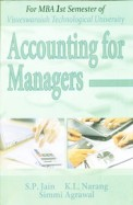 ACCOUNTING FOR MANAGERS FOR MBA 1 SEM - VTU