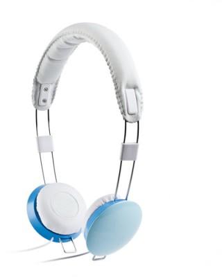 Enzatec iphone Headset - (Blue)