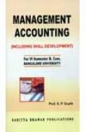 Management Accounting For Bcom 6th Sem - Bu