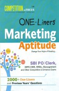 One Liners Marketing Aptitude Sbi Po/clerk/ibps Cwe Rrbs Manngement & Other Competive & Entrance