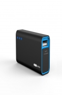 Portronics Charge Mini 2600 MAH (Black-Blue) POR - 354