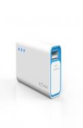Portronics Charge Mini 2600 MAH (White-Blue) POR - 355