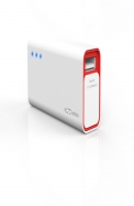 Portronics Charge Mini 2600 MAH (White - Red) POR - 357